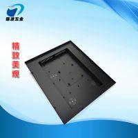 1-2mm冷扎板钣金加工黑色液晶监视器金属外壳,尺寸款式可定制