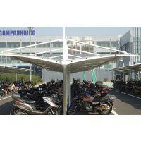 江苏佰特专业负责 苏州地区停车场膜结构车棚 百种优秀市政工程可参考