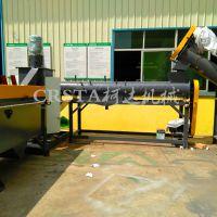 柯达机械医疗垃圾处理设备,医疗废料再生破碎清洗线