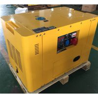 睿德R2V88双缸风冷柴油发电机组 10KW柴油发电机组 14HP静音三相带ATS