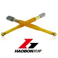 热销 经济型塑料杆黄色滚轮玻璃刀瓷砖刀金刚石玻璃瓷砖切割工具