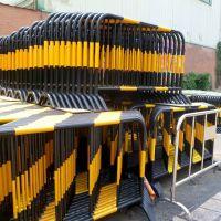 铁马护栏 活动临时隔离栏道路临时护栏可移动 市政不锈钢铁马围栏