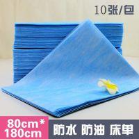一次性床单美容院专用加厚按摩产妇护理垫无纺布防水防油80*180蓝