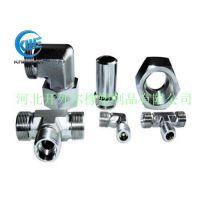 厂家销售各种材质不锈钢液压油管接头 直角液压接头-开外尔