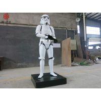 影视主题雕塑|商场广场人物玻璃钢雕塑厂家
