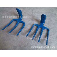 道渣耙 铁路四 铁路维护工具170mm加固型四齿耙 铁路四齿耙