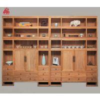 新中式实木衣柜现代中式简约大衣橱储物柜收纳柜禅意民俗整装家具