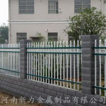 郑州厂家定制热镀锌 锌钢护栏 防攀爬小区钢材围墙栏 锌钢隔离栏 河南新力