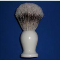 胡刷#AAG122厂家批 发男士剃须刷 三色尼龙毛胡刷 仿木纹树脂柄