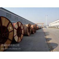 供应齐鲁牌裸铜线多芯交联塑料绝缘聚氯乙炔PVC护套光复电缆 3*29