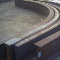 昆明工字钢折弯 钢板焊接加工 材质Q235B 镀锌管车丝 钢材加工