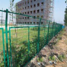 油田场地防护网 厂区框架围栏 双边丝护栏网厂家