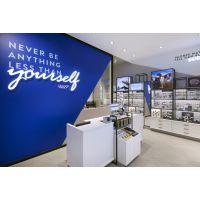 高端品牌店陈列柜 名牌手表展示柜 全店展示设计 高端皮具展柜