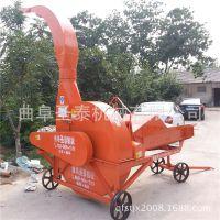 新款8吨双箱铡草机 玉米秸秆青贮铡草揉丝机 秸秆粉碎机大型铡草