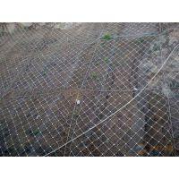 现货供应SNS柔性主动边坡防护网 山体自然灾害滑坡防护网 国标钢丝绳网