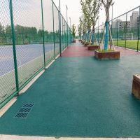 厂家直销弹性硅pu篮球场材料球场环保耐磨硅pu场地施工