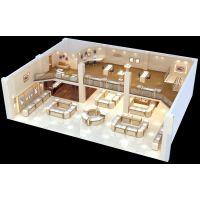 品质珠宝展示柜设计生产与安装一站式服务 可组装