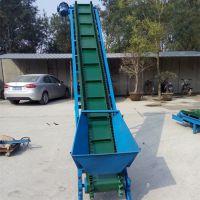 搬运输送机 爬坡带式输送机组图 装车线
