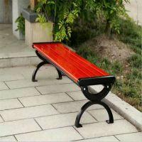 沧州绿美户外长椅 无靠背户外休闲椅 金属室外等候长条公园椅 休闲平凳