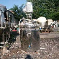 出售二手小型不锈钢反应釜 二手反应釜分散釜生产商