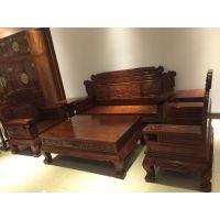 名琢世家家具厂刺猬紫檀红木家具的优点