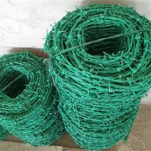 涂塑刺绳 双股刺绳 铁刺防护网价格