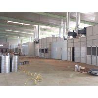 铝型材静电喷涂设备 博兰德超越传统进口喷粉房 自动喷塑流水线换色仅需0.2米min