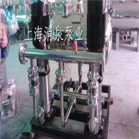 专业定制 不锈钢消防水箱 箱泵一体化保温无负压成套供水设备