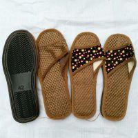 棕拖鞋 天然除臭橡胶底防滑棕丝拖鞋批发