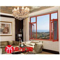 鼎力高端系统门窗 高档用窗客户隔热断桥铝合金门窗