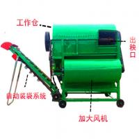 柴油动力花生摘果机 自动装袋花生秧果分离机 果子去秧机金佳