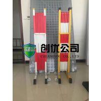 玻璃钢移动伸缩护栏1.2m*2.5m现货供应