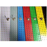 厂家直销 冲孔网洞洞板 圆孔网 手机配件 饰品 货架 移动洞洞板货架 电话13831880991