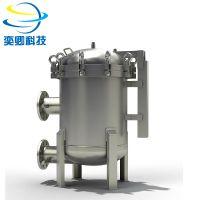 上海袋式过滤器厂家 不锈钢液体多袋式过滤器 奕卿科技
