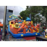 郑州充气城堡出租 新款糖果充气城堡租赁 迪士尼城堡出租