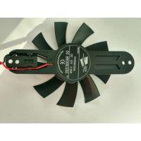 厂家供应8015支架CPU电源12V 防水IP68直流双滚珠散热风扇