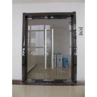 白钢门制作/玻璃门安装/沈阳地弹门安装