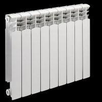 天津暖气片厂家供应 双金属压铸铝散热器 压铸铝采暖器
