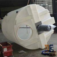 4吨圆形加药箱 4立方pe加药罐 4000升化学塑料桶