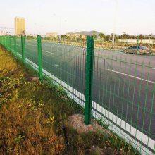 桃型柱隔离网现货 广州三角折弯护栏 惠州工厂围栏价格