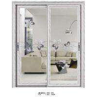 御安田门窗推拉门 钢化玻璃门 双层玻璃 手动隔音 铝合金