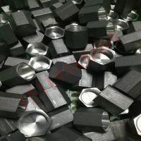 中山车床加工厂 六角铝螺母加工定做 不通孔螺母加工
