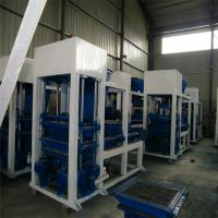 货源充足液压空心制砖机 路面面包砖机 QTY4-15型海绵透水砖机