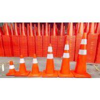 优质PVC路锥 30公分耐压PVC塑料路锥 高档反光锥桶 雪糕筒路障锥