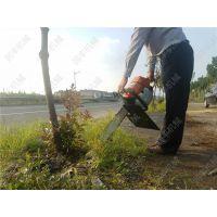 合金链条切入挖树机 经久耐磨树木起苗挖树机润丰