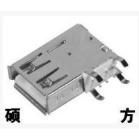 硕方 侧插长体USB插座USB-324