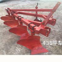 禹鸣机械供应1L-435铧式犁大型农业耕地犁80-100马力拖拉机悬挂重型四铧犁