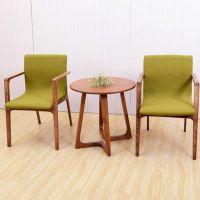 海德利 简约现代 休闲室内高脚吧椅创意铁艺实木吧台桌子咖啡厅酒吧餐桌椅组合