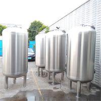 钦州电镀厂订制5T/H不锈钢304材质机械过滤器 石英砂 活性碳 晨兴环保