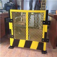 基坑围栏电梯井口安全防护网(2m*1.2m)低碳钢丝工地施工网